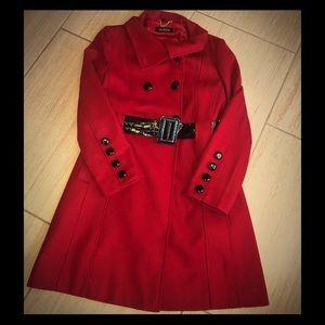 Guess Red Pea Coat 🧥